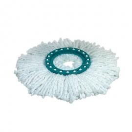 Cabezal de recambio Fregona CLEAN TWIST Disc Mop microfibras